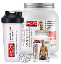 Adrian James Nutrition - Whey Protein Powder | Fat Burner | Protein Shaker 600ml