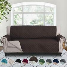 REVERSIBLE COVER SOFA FUTON CHAIR HALF RECLINER COUCH SLIPCOVER PET DOG CAT SET