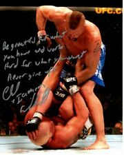 CHUCK LIDDELL signed autographed UFC photo GREAT CONTENT
