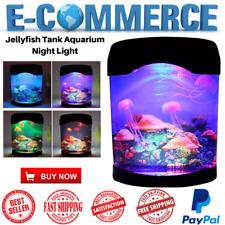 Ocean Decor Electric Jellyfish Tank Aquarium Night Light W Color Changing Effect