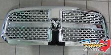 2013-2017 Dodge Ram 1500 Chrome Front Grille with Honeycomb Inserts Mopar OEM