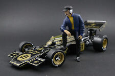 Colin Chapman Figure pour 1:18 Lotus Quartzo JPS John Player