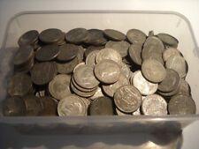 CB508c) Australia Silver Florins, minted 1911 – 1963 Wholesale bulk lot 250g
