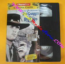 VHS film PAT GARRETT E BILLY KID Peckinpah Bob Dylan L' ESPRESSO (F135) no dvd