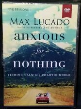 Anxious for Nothing Finding Calm in a Chaotic World Five Sessions on DVD - NEW