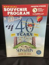 Sun 'n Fun Fly-In Airshow 2014 Event Program