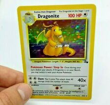 Dragonite Holographic WOTC Fossil Unlimited Pokemon Card