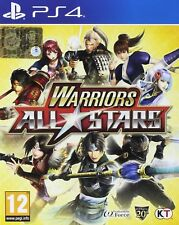 Warriors All-Stars  playstation 4  PS4   NUOVO
