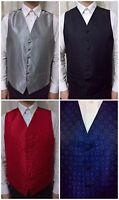 MENS FORMAL WAISTCOAT PISCADOR SMART EVENING TUXEDO WEDDING HIGH QUALITY RRP £30