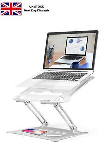 Portable Adjustable Laptop Stand Holder Desk Riser For Notebook Macbook