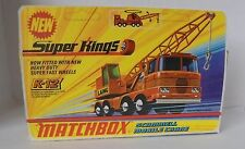 Repro Box Matchbox SuperKings K-12 Scammell Mobile Crane