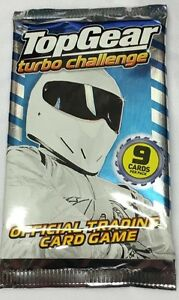 20 Packs X Top Gear Turbo Challenge NEW Trading Cards Party Lucky Bag