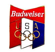 BIER Pin / Pins - BUDWEISER / OLYMPIA SPONSOR USA [3011]