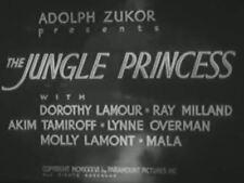 THE JUNGLE PRINCESS-1936- Dorothy Lamour,Ray Milland region free DVD