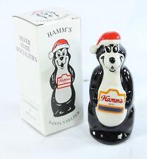 Wade Hamm's Beer Santa's Helper Bear 1995 Black New With Box-Only 2000 Made