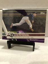Jace Peterson 2017 Topps *PURPLE Toys R Us Exclusive Insert #133 Atlanta Braves