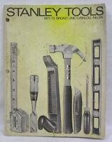 Vtg Stanley Tools Catalog 1971 Broad Line 144 Pages Hundreds of Illustrations !