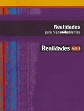 VG, REALIDADES 2014 PARA HISPANOHABLANTES LEVEL A/B/1, PRENTICE HALL, 0133225895