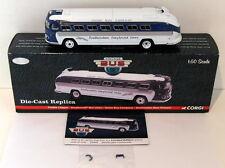 Corgi 1/50 Scale US54207 - Flexible Clipper Greyhound Union Bus Co. New Orleans