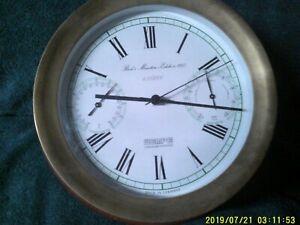 Wempe Marine-Quartz Chronometer, Barometer, Thermometer -made in Germany