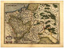 Poland Eastern Europe Masovia Silesia Pomerania map Abraham Ortelius ca.1570