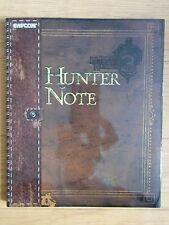 JAPAN Monster Hunter Tri Hunter Note Capcom official book