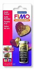 FIMO POLVERE ORO 10 gr Decoupage Staedtler Bricolage Patchwork Gold Hobby 118709