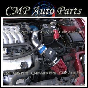 BLUE RED 02-05 Mitsubishi Eclipse SPYDER/GS/GT/GTS/RS 2.4L 3.0L AIR INTAKE KIT