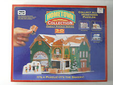 FACTORY SEALED ROSE ART 3D PUZZLE HOMETOWN COLLECTION THE BAKERY 100+ Pieces #2