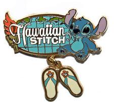 Disney JDS Hawaiian Stitch Flip Flop Dangle Pin