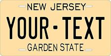 New Jersey 1960 Tag License Plate Personalized Auto Car Custom VEHICLE OR MOPED