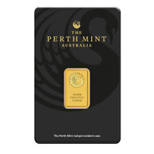 5 Gramm Goldbarren Perth Mint Gold 999,9 Feingold Barren