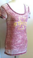 Zen by J. America Women's Medium fitted lightwt. thin Iowa State Red t shirt top