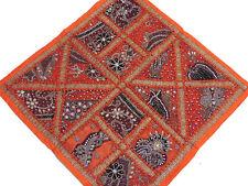 Unique Orange Luxury Cushion Cover Indian Floor Big Living Room Pillow Decor