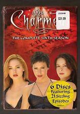 CHARMED ~ The Complete Sixth Season ~ NEW ~ 6 Disc DVD Set ~ Alyssa Milano