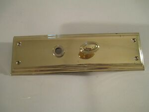 Baldwin Polished Brass Escutcheon  Interior Trim
