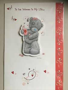 Woman In My Life Me To You Tatty Teddy Card And Envelope £1.25