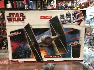 Star Wars Legacy Collection Imperial tie Fighter Target Nib 2009 Hasbro