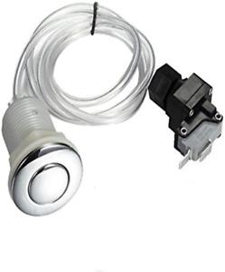 Garbage Disposal Air Switch Spa Bathtub Air Switch Button Kit Chrome Hot Tub or