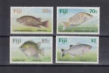 TIMBRE STAMP 4 ILES FIJI Y&T#617-20 POISSON FISH  NEUF**/MNH-MINT 1990 ~B19