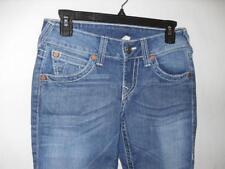 "New Women's True Religion ""Hi-Rise Boot"" Jeans - Lt. Wash - Sz: 25 - NWT $240"