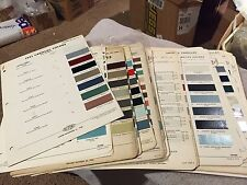 1950-1980  CADILLAC,RARE PART ,PAINT CHIP CHARTS SET. VINTAGE. HARD TO FIND
