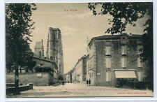 Place du Bastion Tours Cathedrale Lectoure Le Gers France postcard