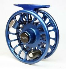 GALVAN T-5 TORQUE 5 FLY REEL CUSTOM BLUE #5/6 WEIGHT ROD USA MADE FREE $100 LINE