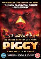 Piggy DVD (2012) Martin Compston, Hawkes (DIR) cert 18 ***NEW*** Gift Idea