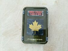 Flames of War 3rd Canadian Division dice tin