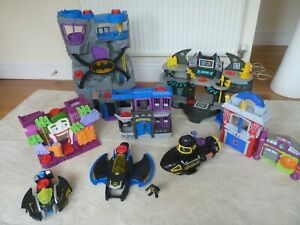 Imaginex Batman And Joker MR fREEZE Bundle Playset