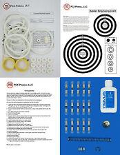 1976 Segasa Cannes Pinball Machine Tune-up Kit - Includes Rubber Ring Kit