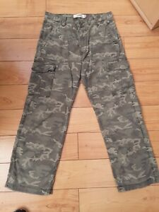 LEVI LOOSE STRAIGHT CARGO TROUSERS W34 L32