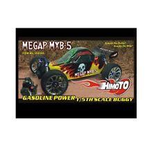 Buggy Megap MXB-5 Engine Blast for 32CC & Radio 2.4ghz 4WD Scale 1:5 Himoto